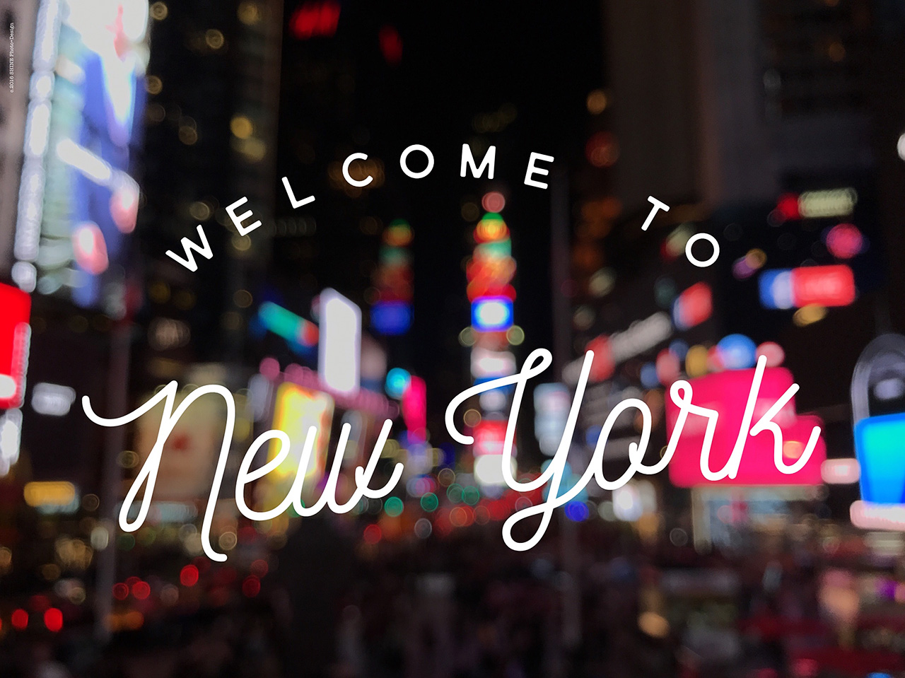Welcome to New York by SHINE Photo+Design