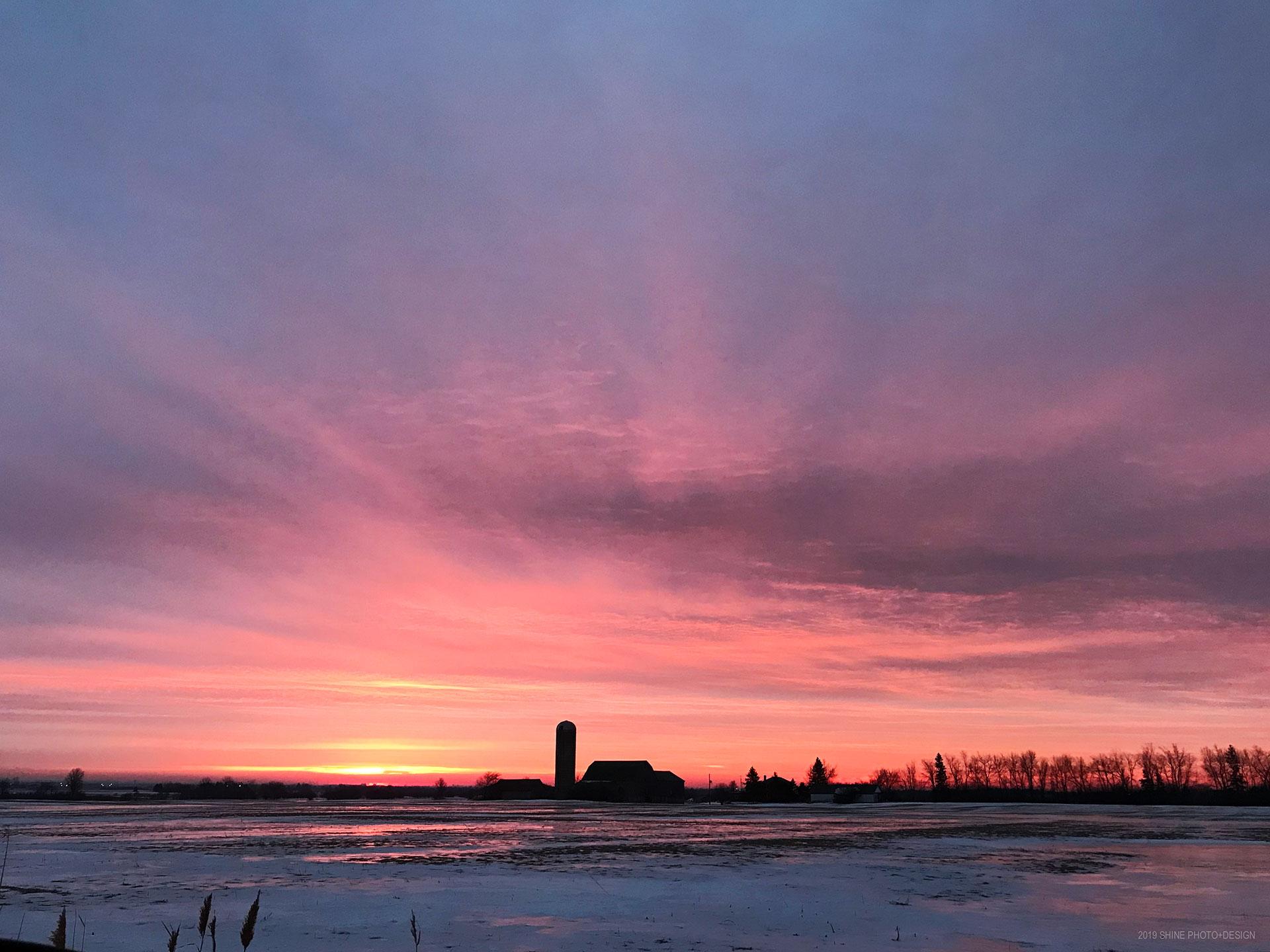 morning sunrise by Shine Photo Design